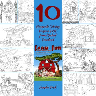 kids coloring pages farm