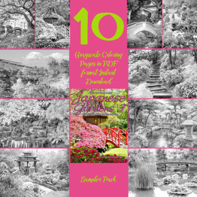 Japanese Gardens 3 sampler
