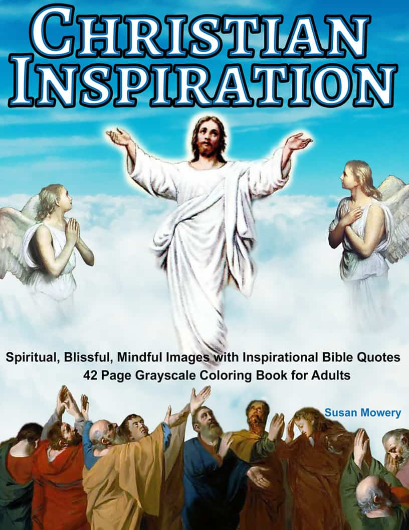 Christian Inspiration Coloring Book for Adults | Life ...
