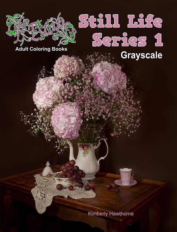 Life Escapes Adult Coloring Books Still Life Series Vol. 1