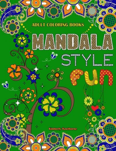 MANDALA STYLE FUN adult coloring book
