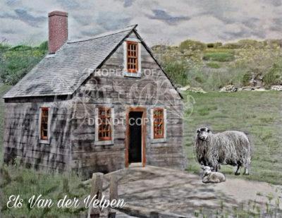 48 country scenes - Els Van der Velpen2