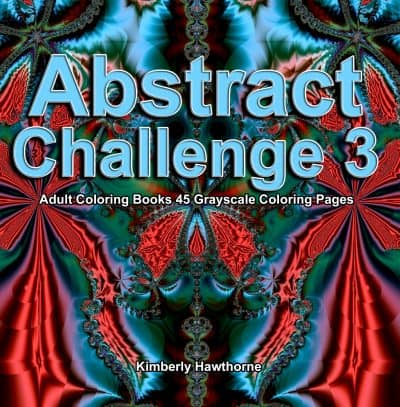Abstract Challenge 3 adult coloring book