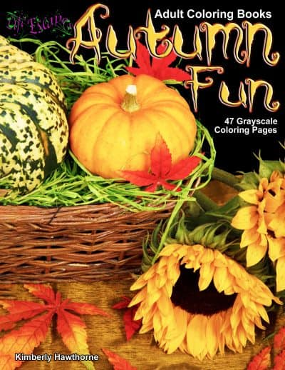 Autumn Fun adult coloring book