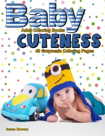 Baby Cuteness adult coloring book