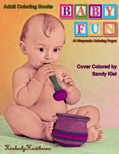 Baby Fun Adult Coloring Book