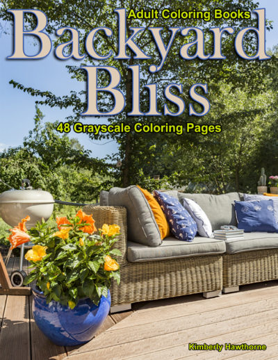 Backyard Bliss adult coloring book pdf