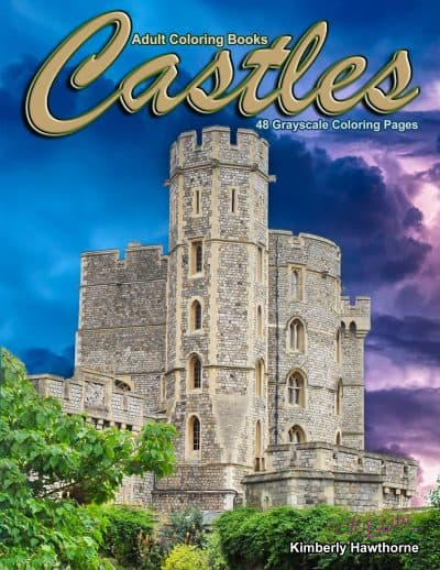Castles Adult Coloring Book