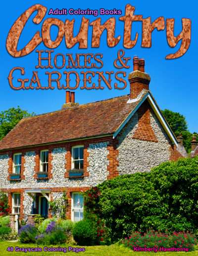 Country Homes & Gardens adult coloring book pdf