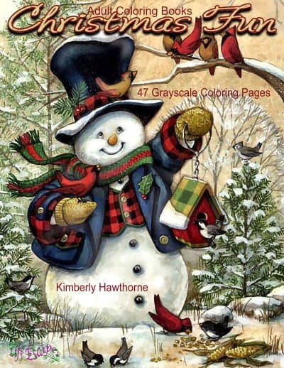 Christmas Fun adult coloring book
