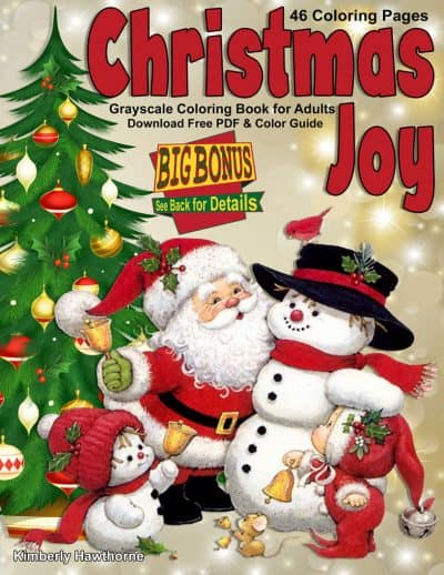 Christmas Joy coloring book