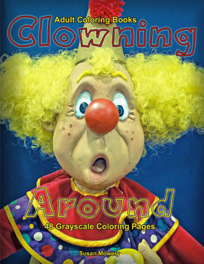 Clowning Around Adult Coloring Book PDF