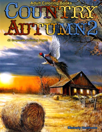 Country Autumn 2 adult coloring book pdf