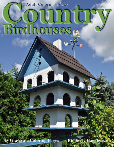 Country Birdhouses adult coloring book pdf