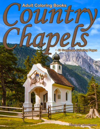 Country Capels adult coloring book pdf