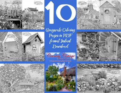 Country Cottage Backyard Gardens 1 Sampler