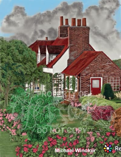 Country Cottage Backyard Gardens - Michael Winokur3