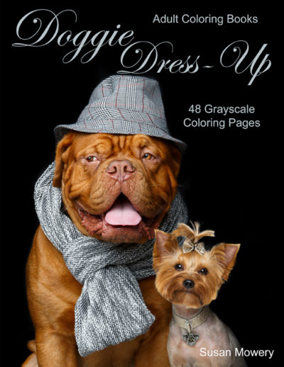 Doggie Dress-Up adult coloring book pdf