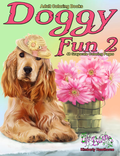 Doggy Fun 2 Adult Coloring Book pdf