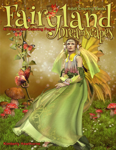 Fairyland Dreamscapes adult coloring book pdf