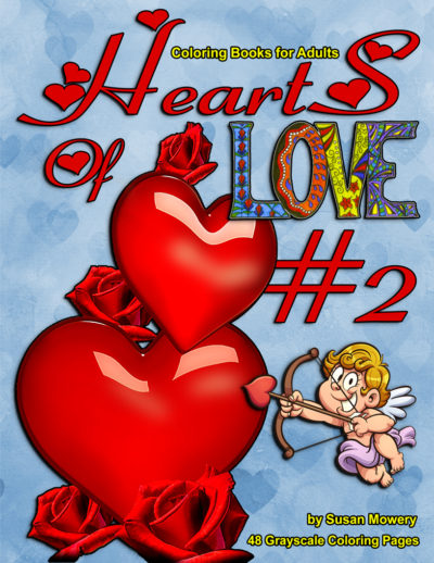 Hearts of Love 2 adult coloring books pdf