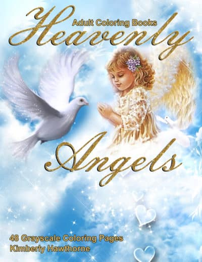 Heavenly Angels adult coloring book pdf