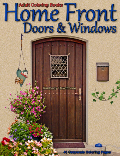 Home Front Doors & Windows adult coloring book pdf