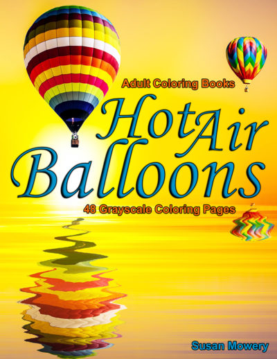 Hot Air Balloons adult coloring book pdf