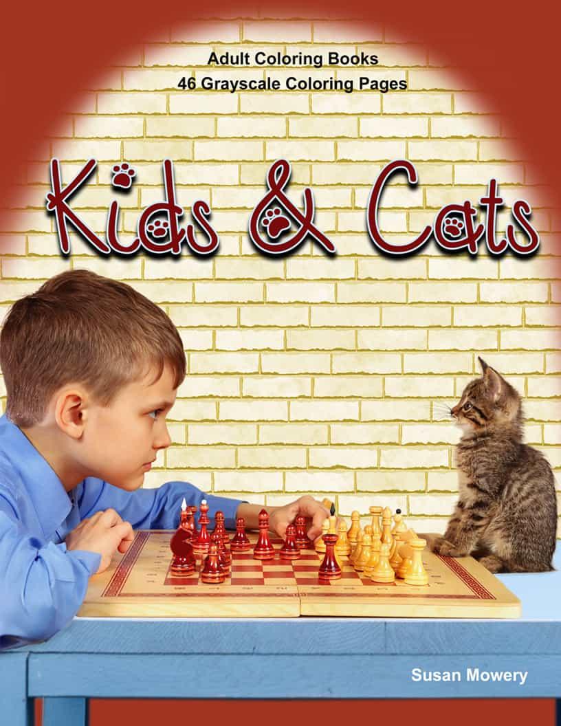 Kids Cats Adult Coloring Book Pdf Life Escapes Adult Coloring Books Pdf