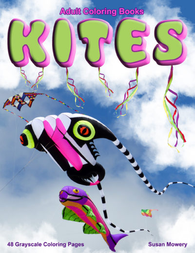 Kites adult coloring book pdf