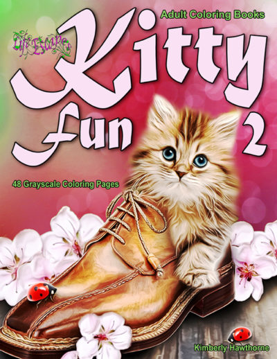 Kitty Fun 2 Adult Coloring Book PdF