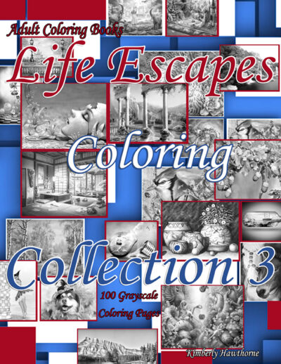 LECC 3 grayscale coloring book