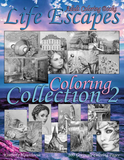 Life Escapes Coloring Collection 2 adult coloring book pdf