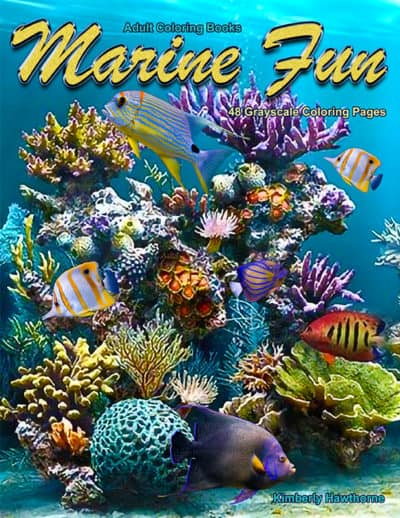 Marine Fun adult coloring book pdf