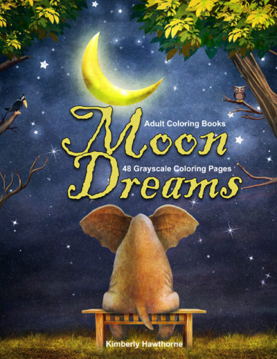 Moon Dreams adult coloring book pdf