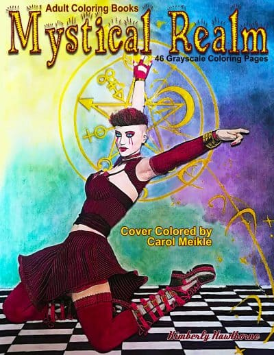 Mystic Realm adult coloring book