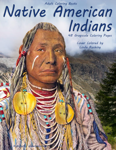 Native American Indians adult coloring book pdf