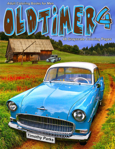 Oldtimer 4 adult coloring book for men PDF