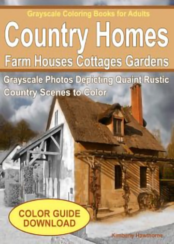 Country-homes-adult-coloring-book