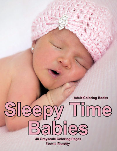 Sleepy Time Babies adult coloring book pdf