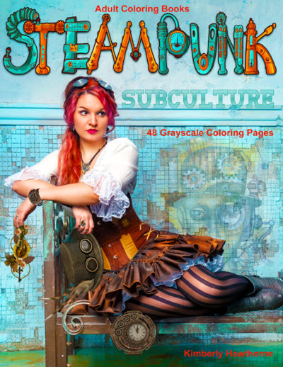Steampunk adult coloring book pdf