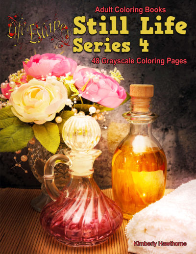 Still Life 4 coloring books for adults