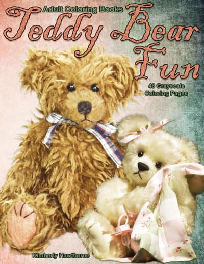 Teddy Bear Fun adult coloring book pdf