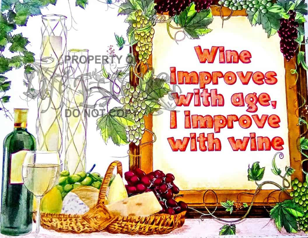 Wine Lovers - Willows Whimsy