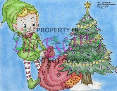 christmas joy - Tricia Mason