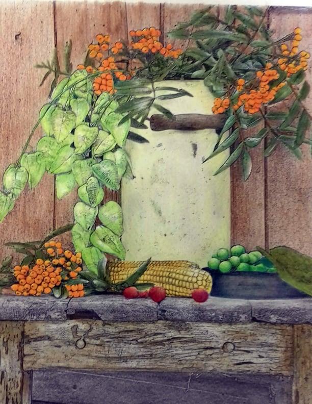 still life 1 - Ann Ledgerwood