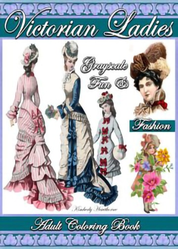 victorian-ladies-adult-coloring-book