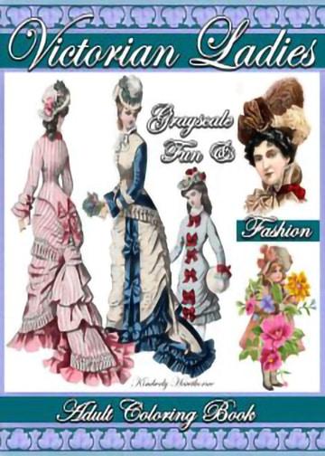 victorian-ladies-adult-coloring-book